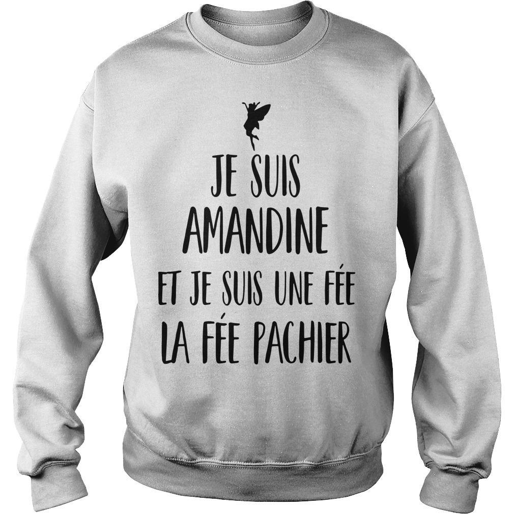 Je Suis Amandine Et Je Suis Une Fée La Fée Pachier Sweater