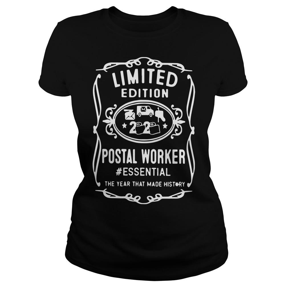 Limited Edition Postal Worker Essential The Year That Made History Longsleeve