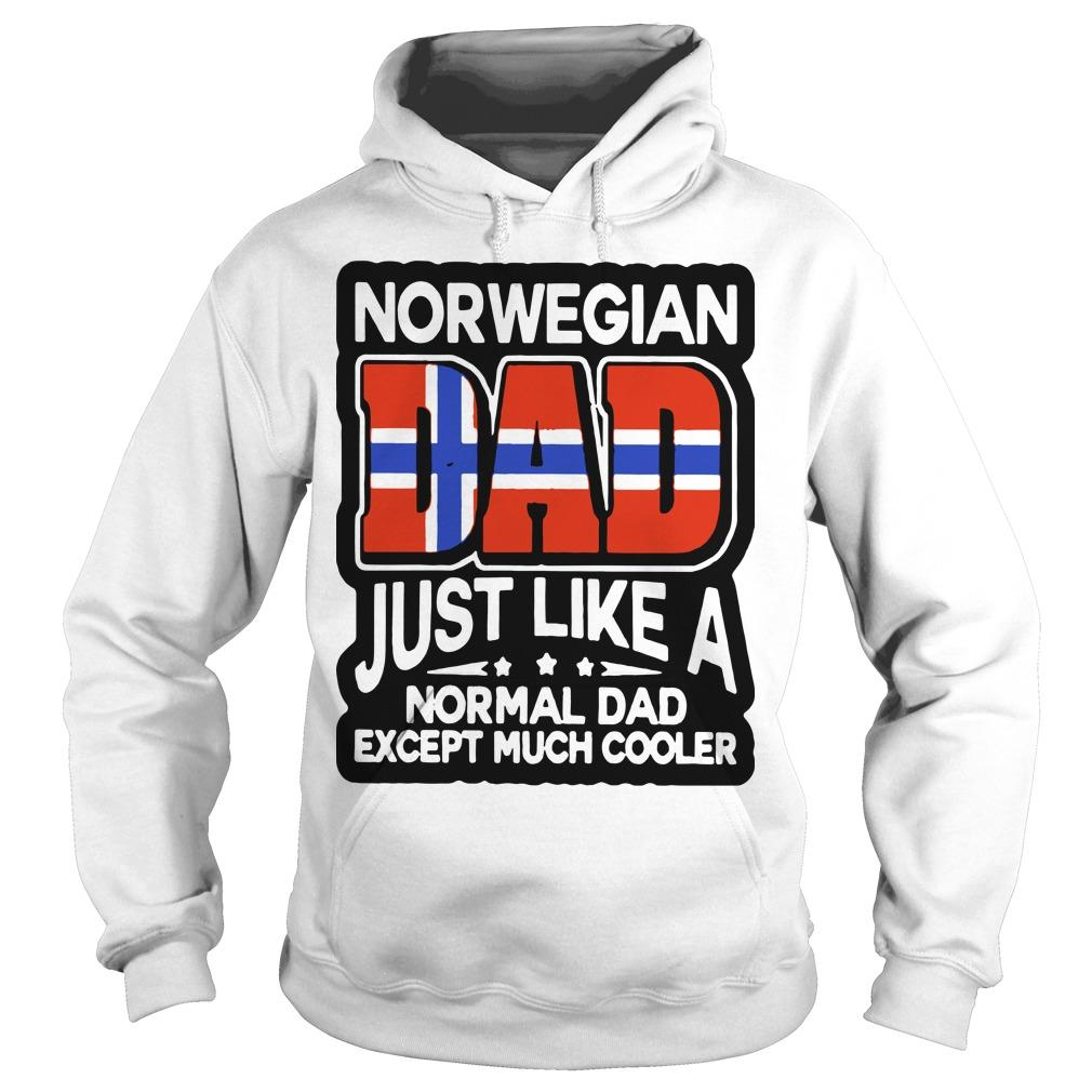 Norwegian Dad Just Like A Normal Dad Except Much Cooler Hoodie