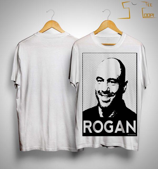 Portrait Art De Joe Rogan Shirt