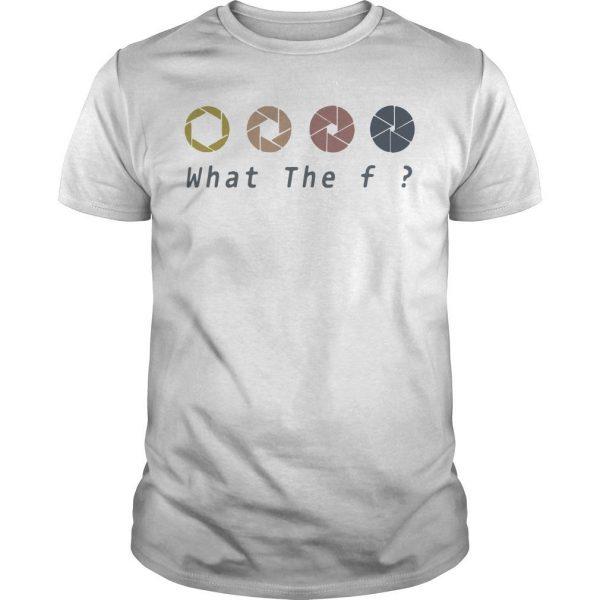 Retro What The Fuck Camera Shirt