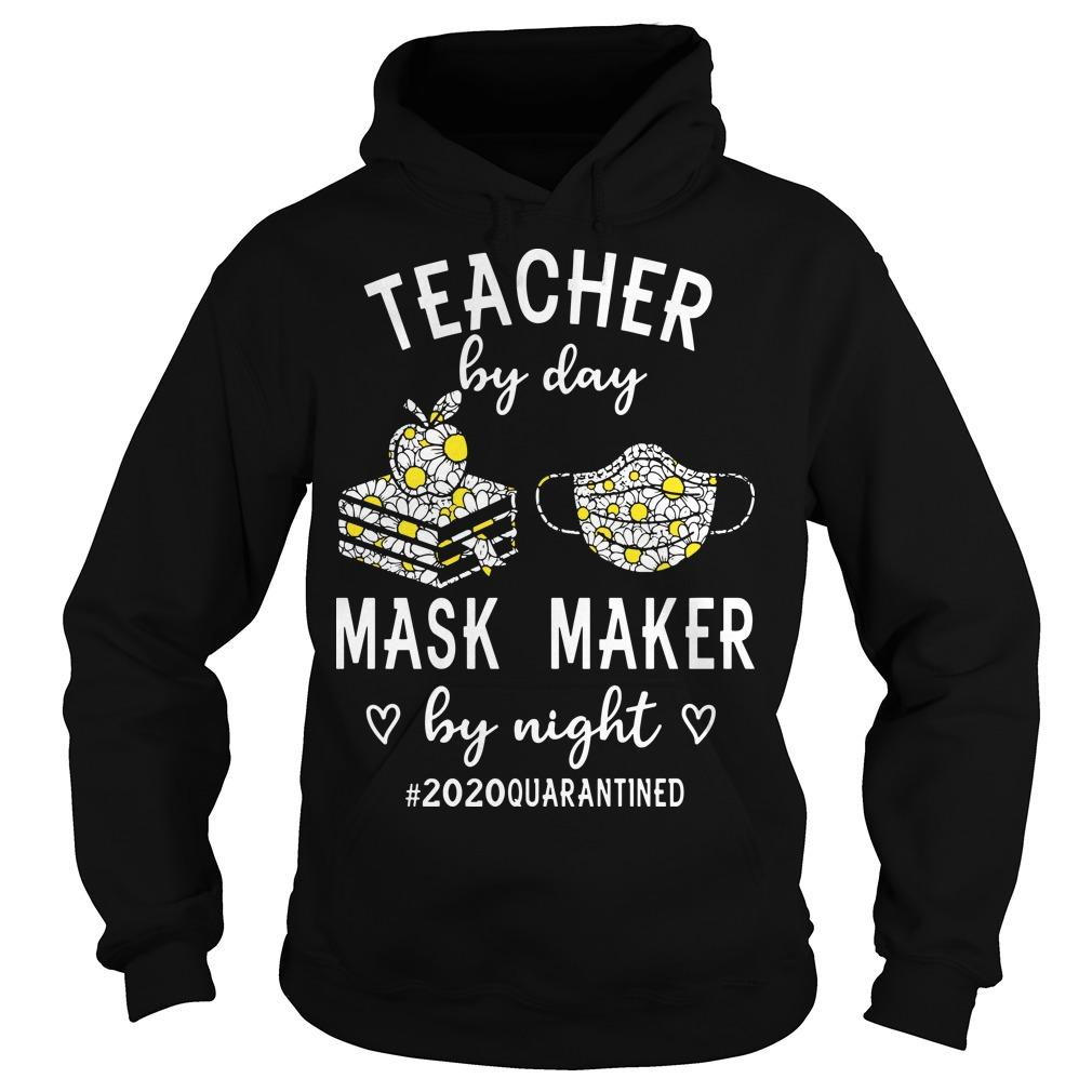Teacher By Day Mask Maker By Night #2020quarantined Hoodie