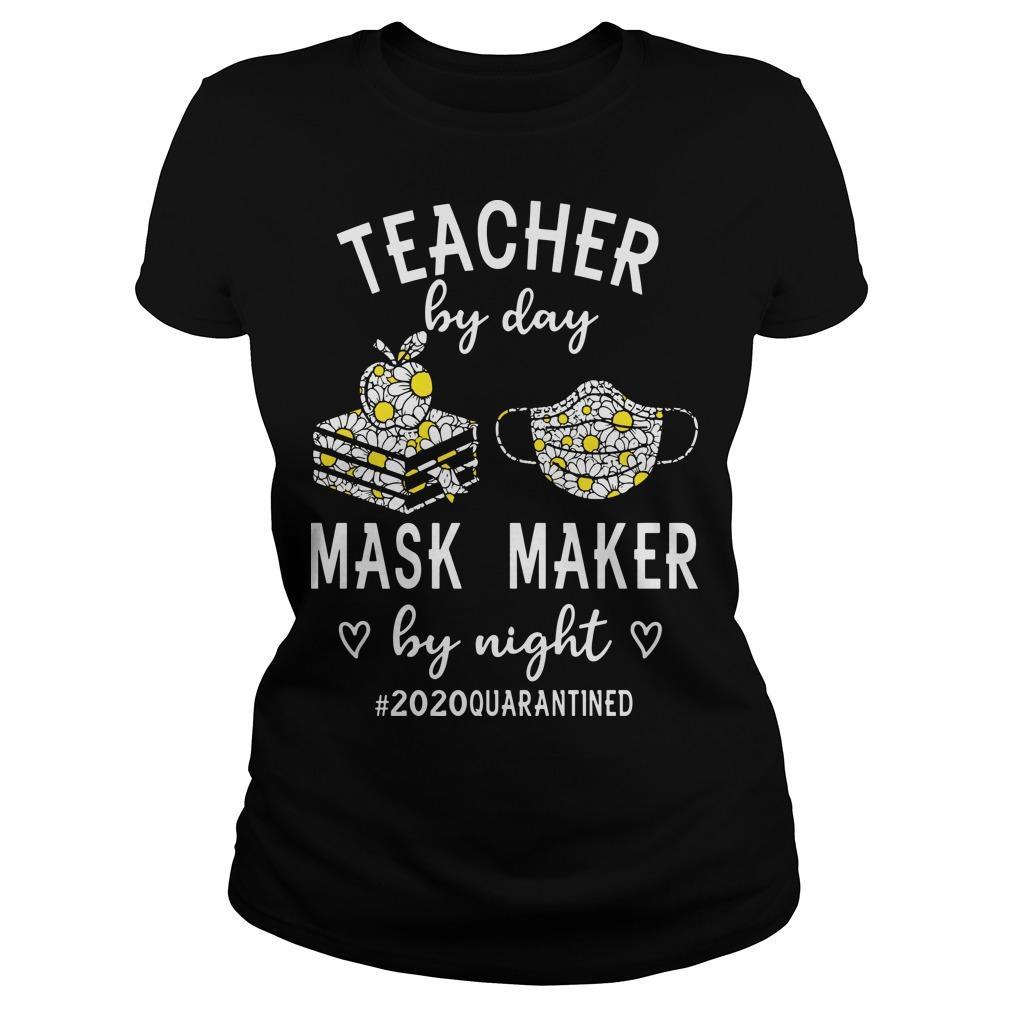 Teacher By Day Mask Maker By Night #2020quarantined Longsleeve