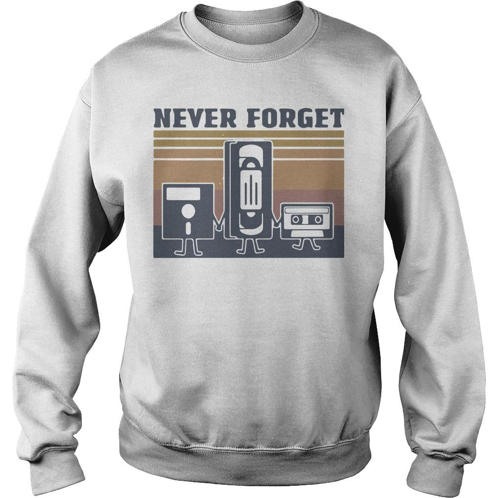 Vintage Cinematography Never Forget Sweater