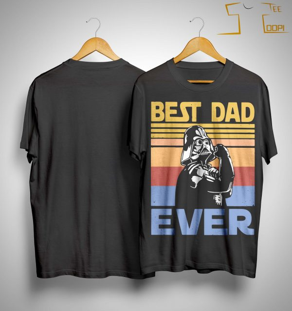 Vintage Darth Vader Best Dad Ever Shirt