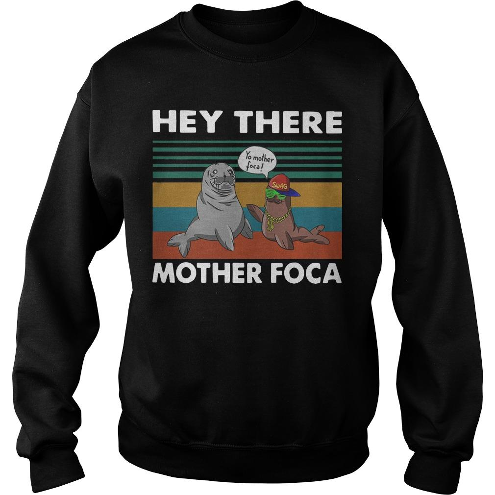 Vintage Hey There Yo Mother Foca Sweater