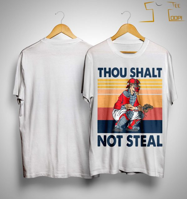 Vintage Thou Shalt Not Steal Shirt