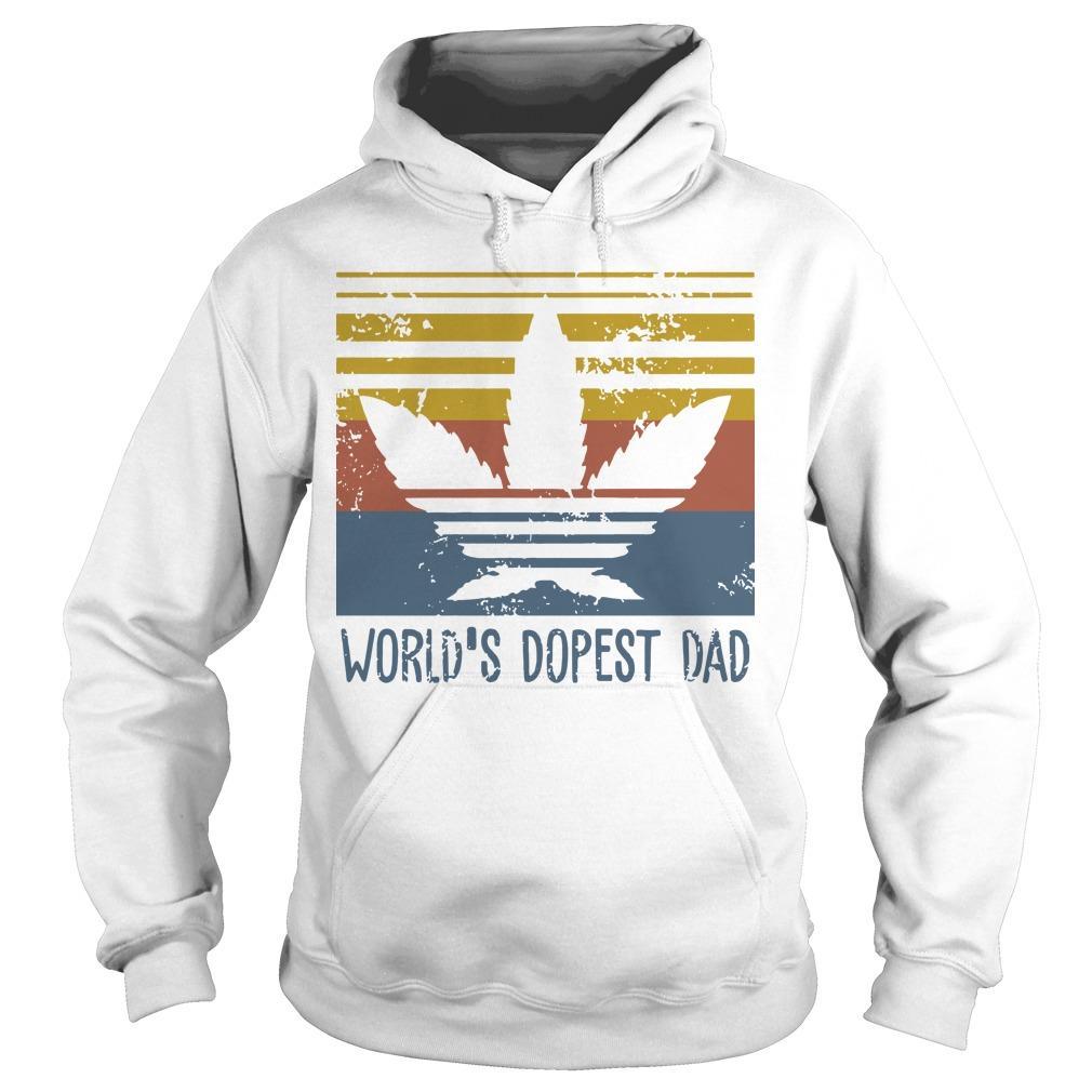Vintage World's Dopest Dad Hoodie