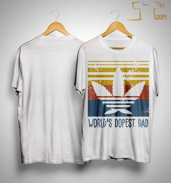Vintage World's Dopest Dad Shirt