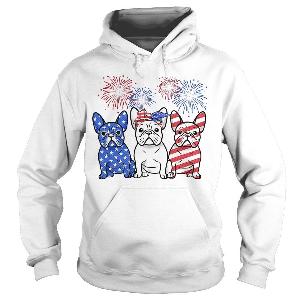American French Bulldog Hoodie