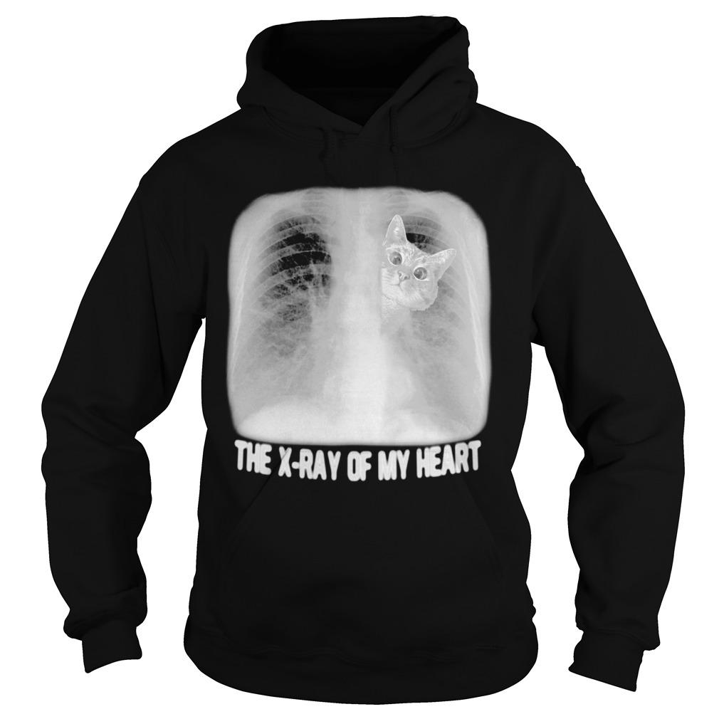 Cat The X Ray Of My Heart Hoodie