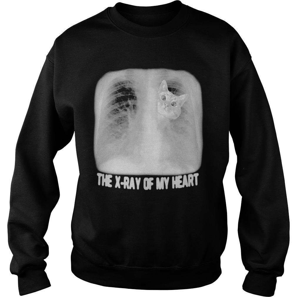 Cat The X Ray Of My Heart Sweater