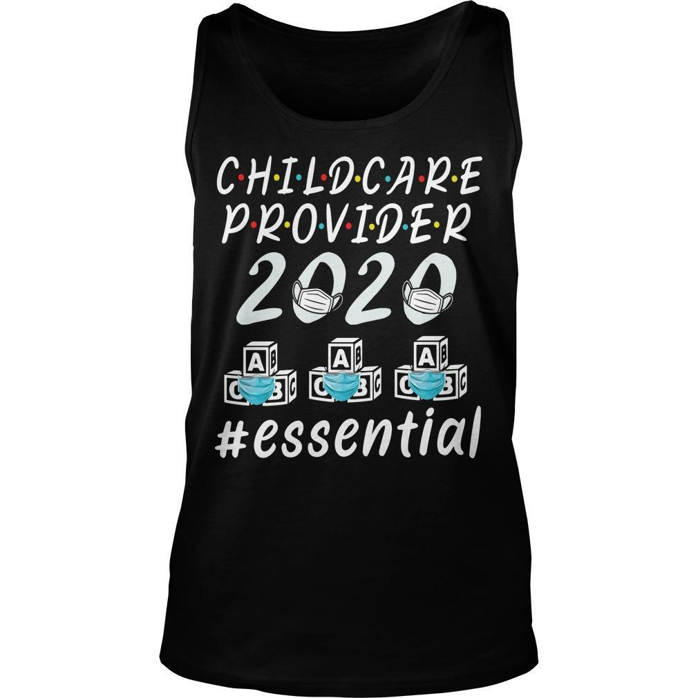Child Care Provider 2020 #essential Tank Top
