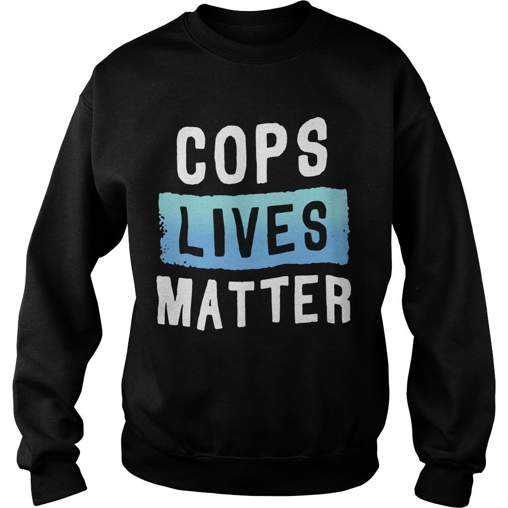 Cops Lives Matter Sweater