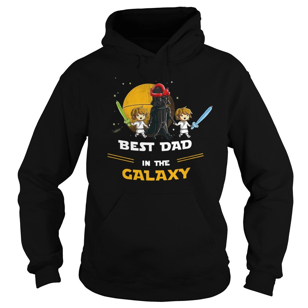Darth Vader Best Dad In The Galaxy Hoodie