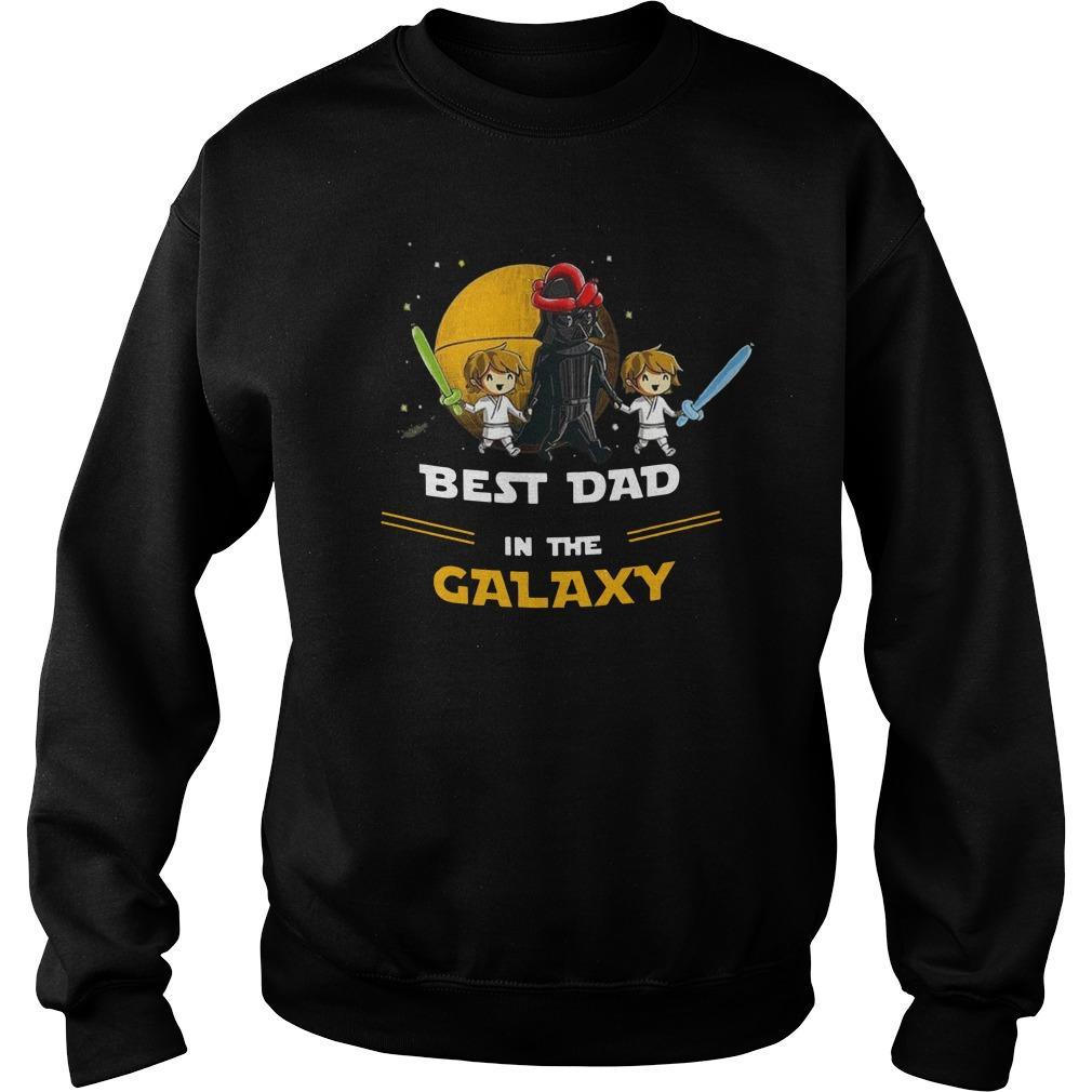 Darth Vader Best Dad In The Galaxy Sweater