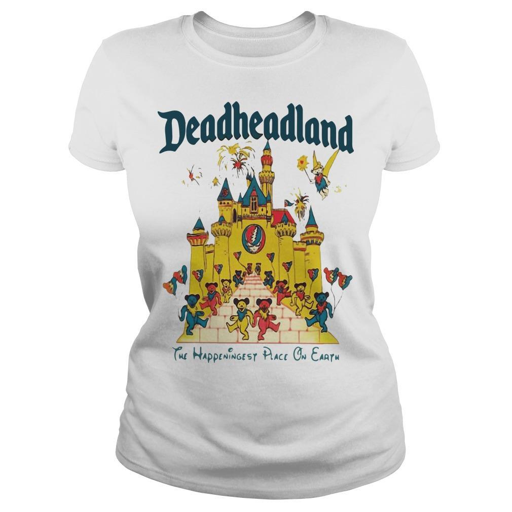 Deadheadland The Happeningest Place On Earth Longsleeve