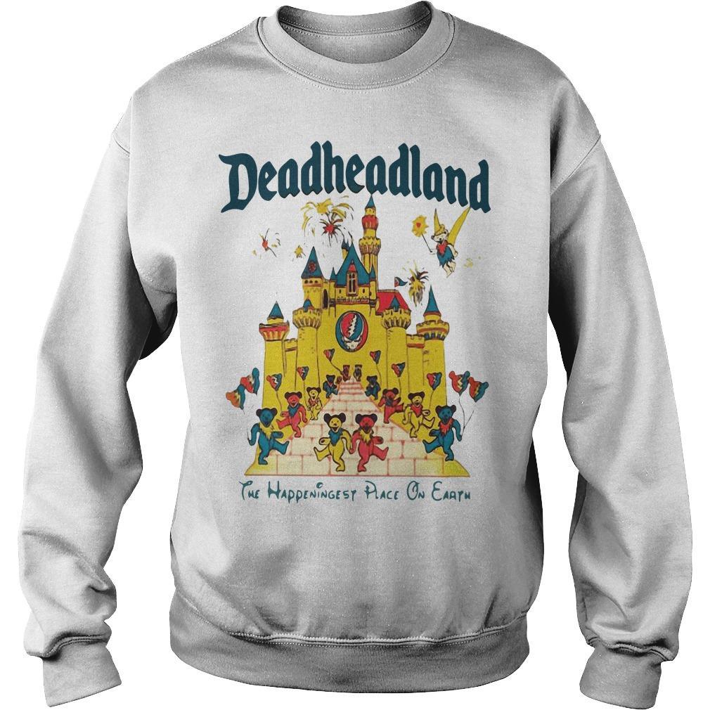 Deadheadland The Happeningest Place On Earth Sweater