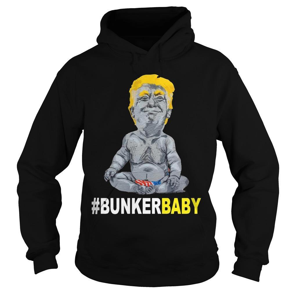 Donald Trump #bunkerbaby Hoodie