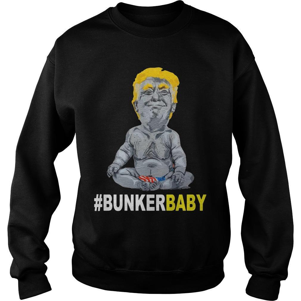 Donald Trump #bunkerbaby Sweater