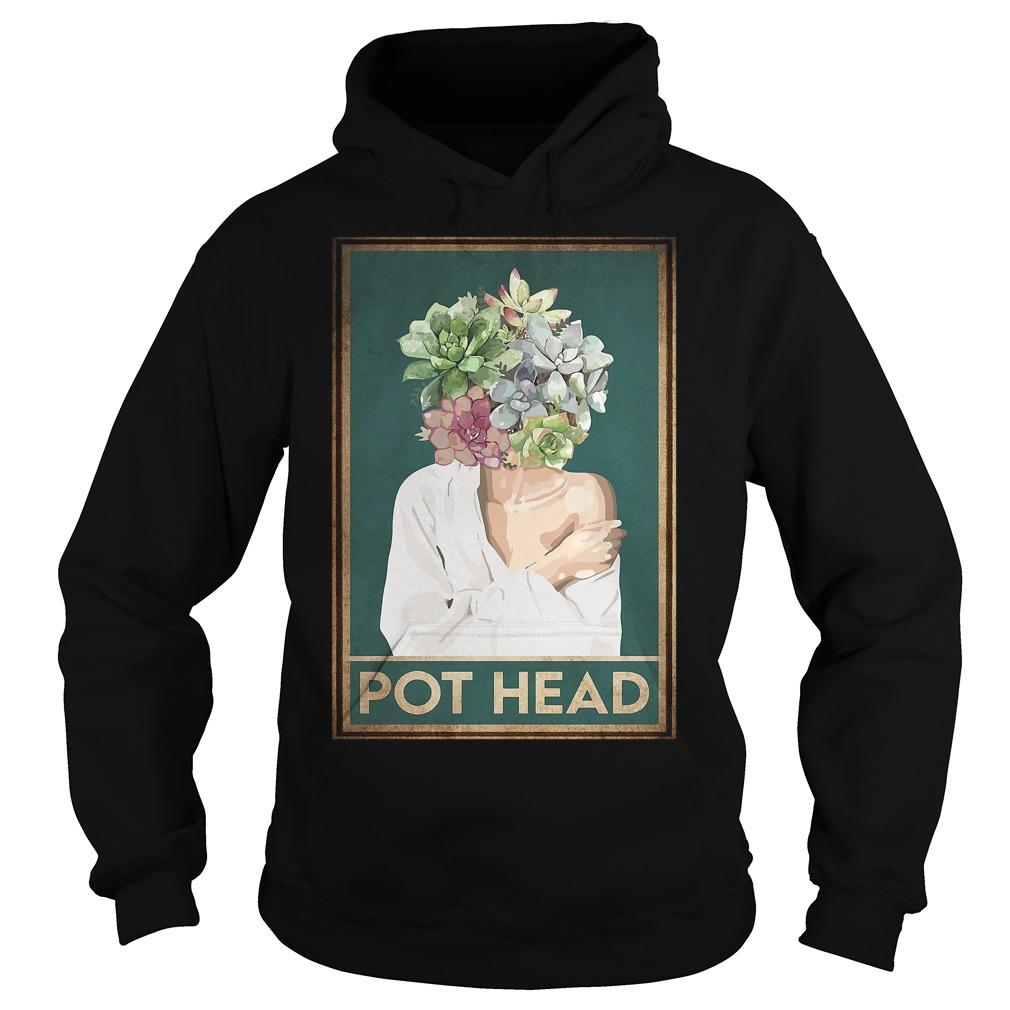 Girl Garden Pot Head Hoodie