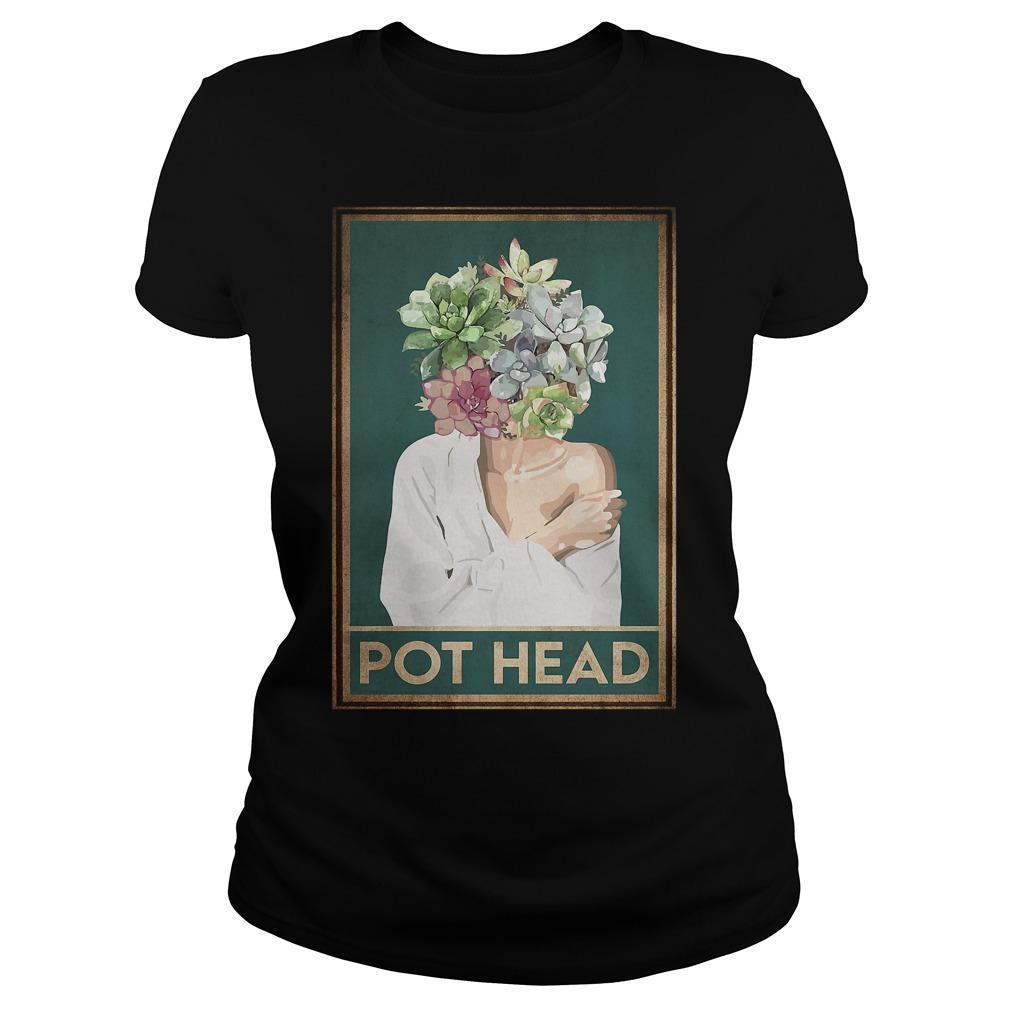 Girl Garden Pot Head Longsleeve
