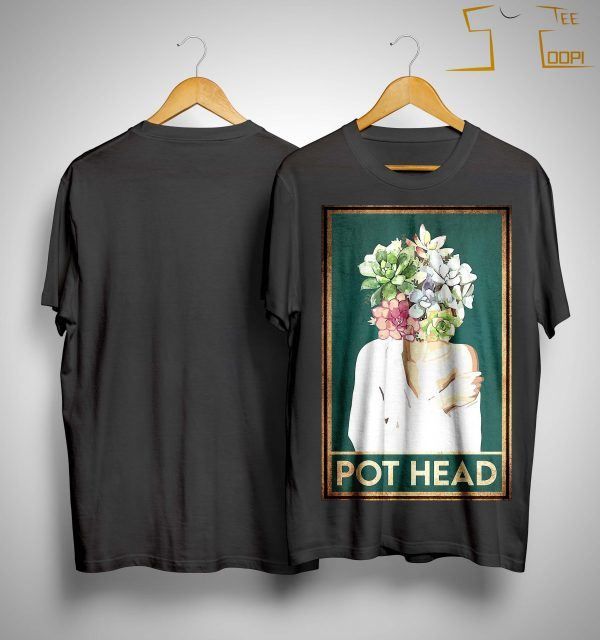 Girl Garden Pot Head Shirt