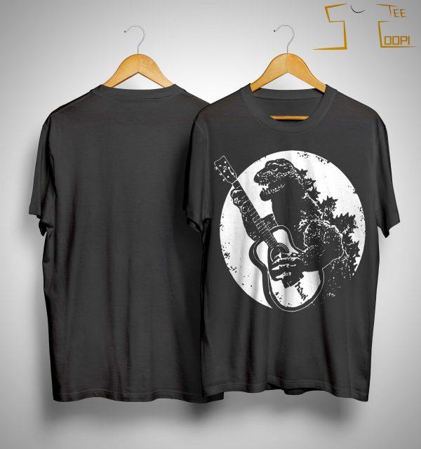 Godzilla Guitarzilla Shirt