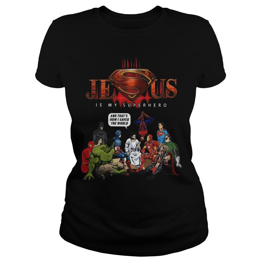 Jesus Is My Superhero Longsleeve