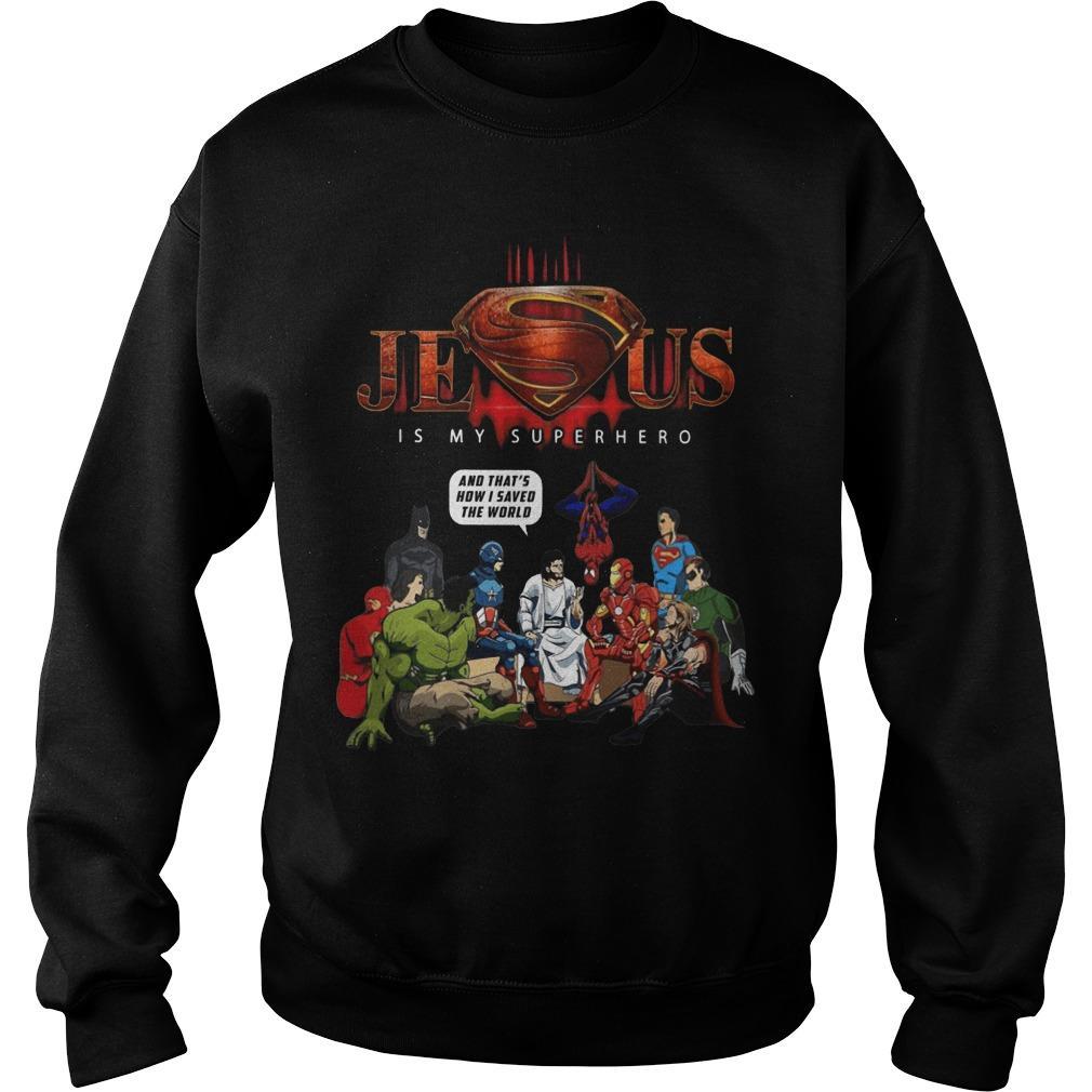 Jesus Is My Superhero Sweater