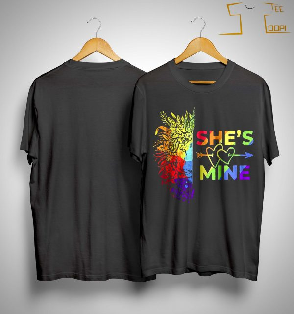 Lgbt Lion She's Mine Shirt