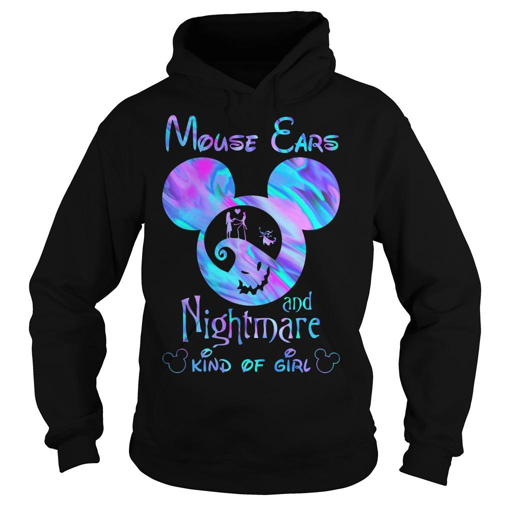 Mouse Ears And Nightmare Kind Of Girl Hoodie