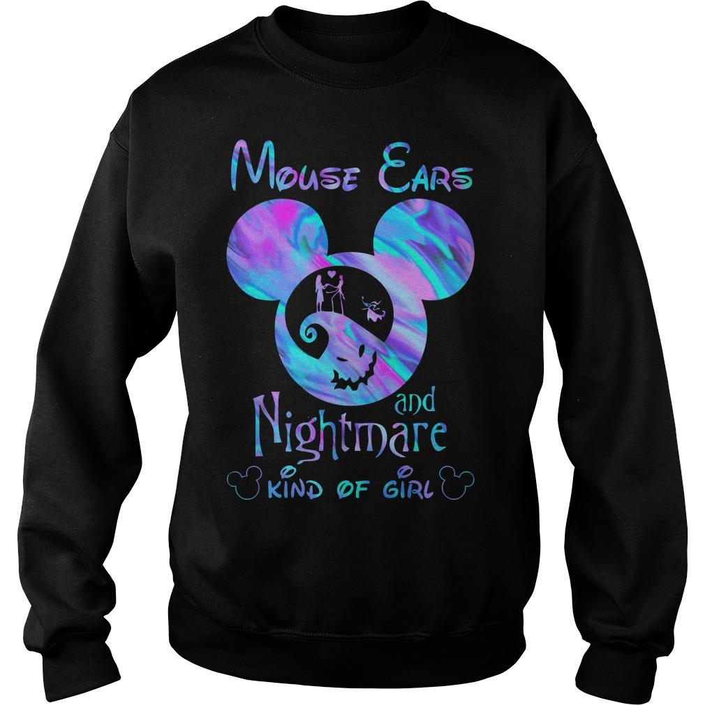 Mouse Ears And Nightmare Kind Of Girl Sweater