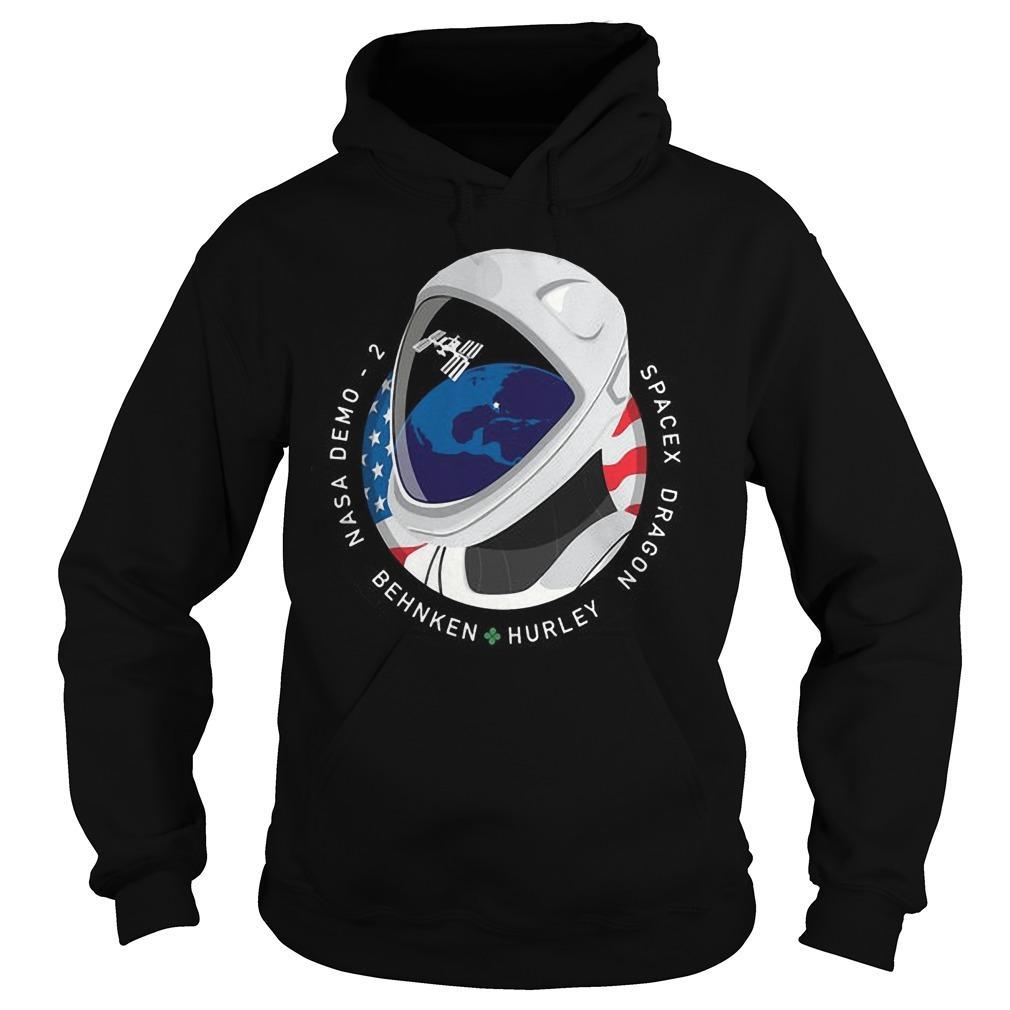 Nasa Rocket Elon Musk Spacex Dragon T Hoodie