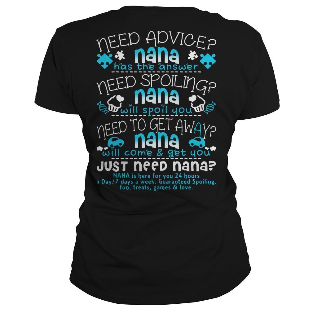Need Advice Nana Has The Answer Just Need Nana Longsleeve