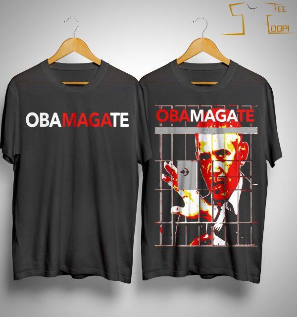 Obama Gate Obama Anime Shirt