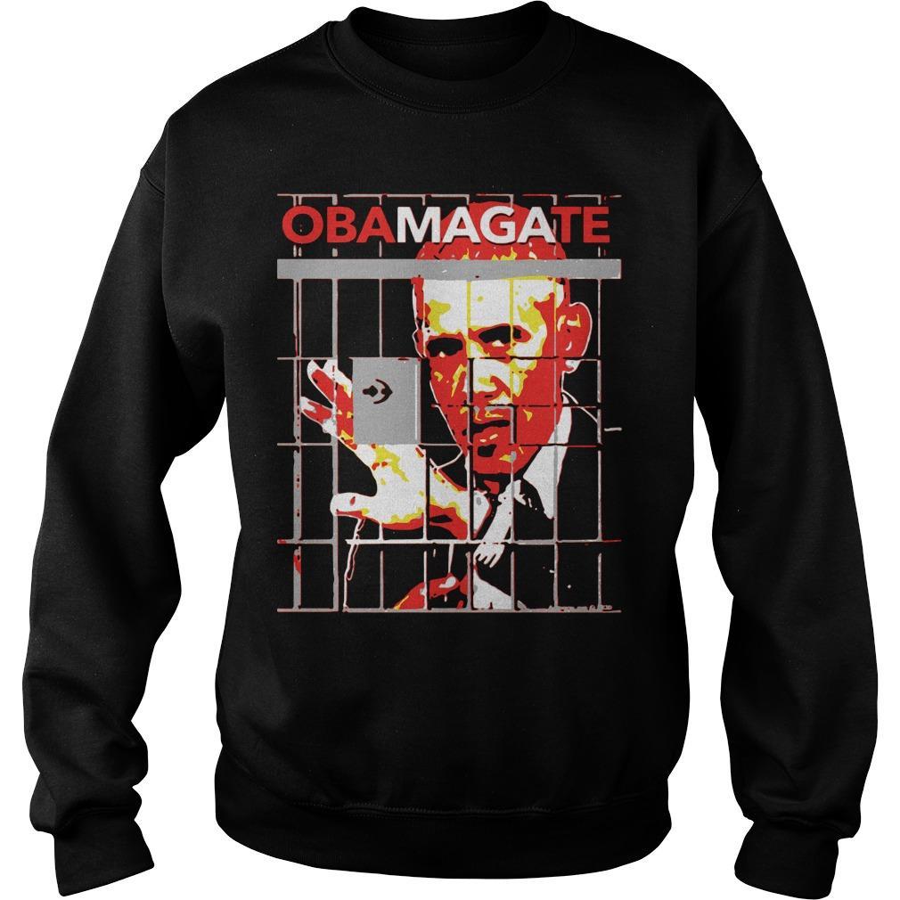 Obama Gate Obama Anime Sweater