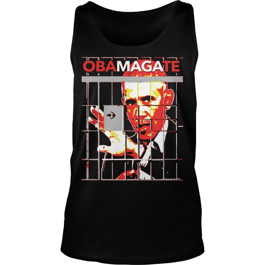 Obama Gate Obama Anime Tank Top
