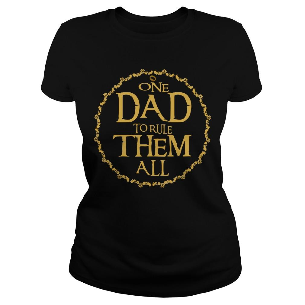 One Dad To Rule Them All Longsleeve