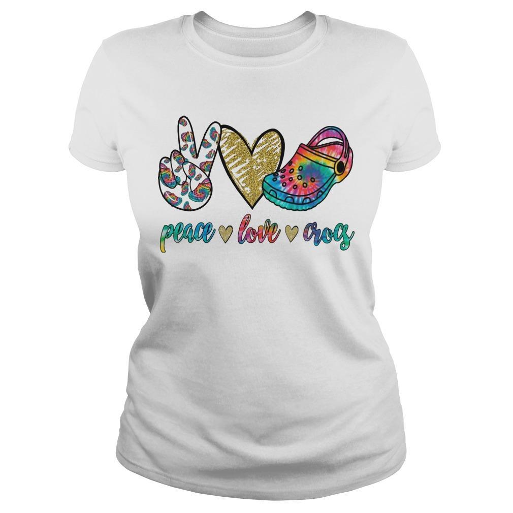 Peace Love Crocs Longsleeve