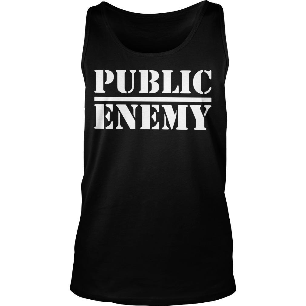 Public Enemy Tank Top