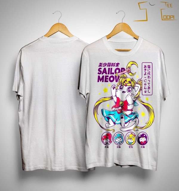 Sailor Moon Sailor Meow Shirt