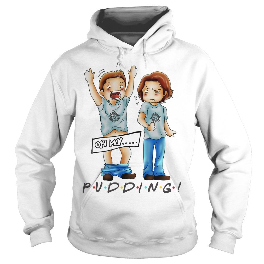 Sam And Dean Winchester Oh My Pudding Hoodie