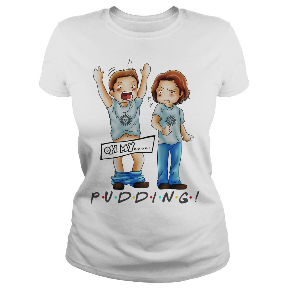 Sam And Dean Winchester Oh My Pudding Longsleeve