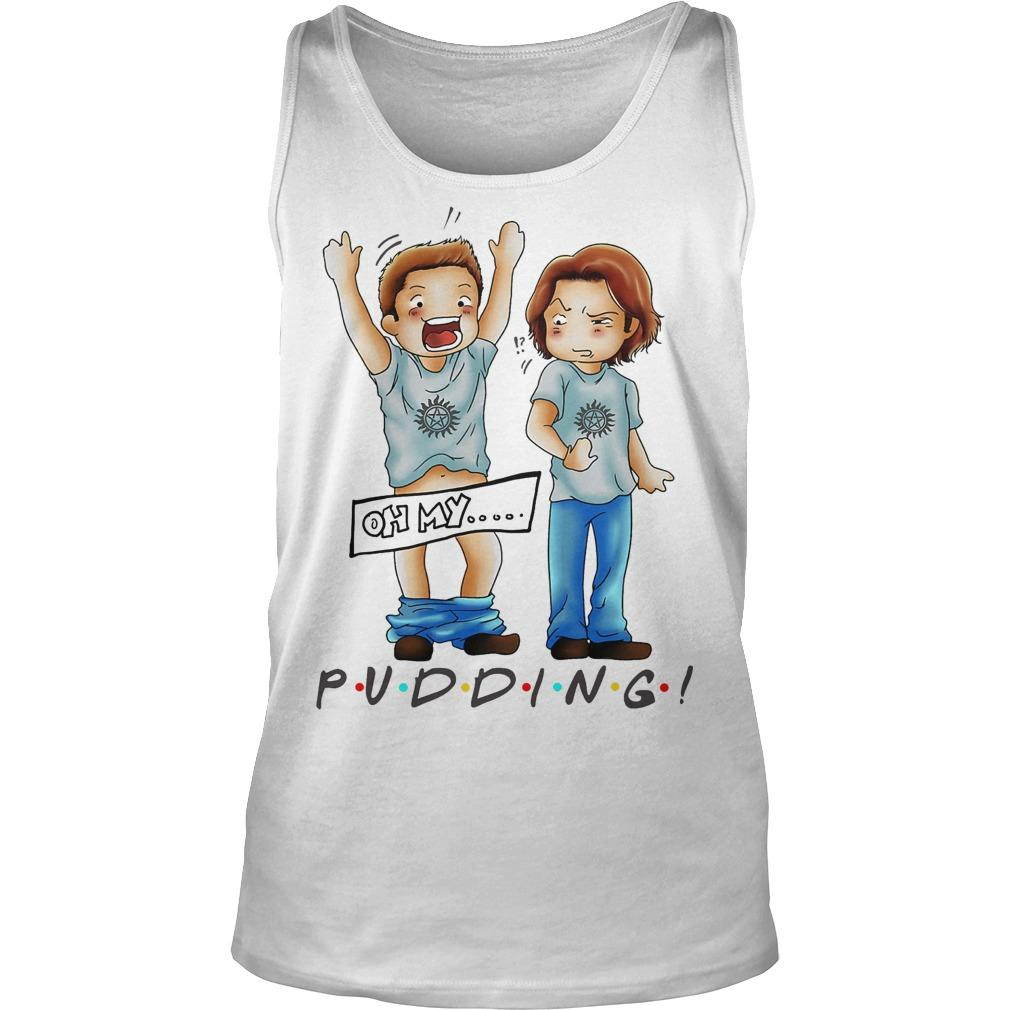 Sam And Dean Winchester Oh My Pudding Tank Top
