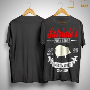 Satriale's Pork Store Italian Pork Sausage Angus Beef Meat Market Shirt