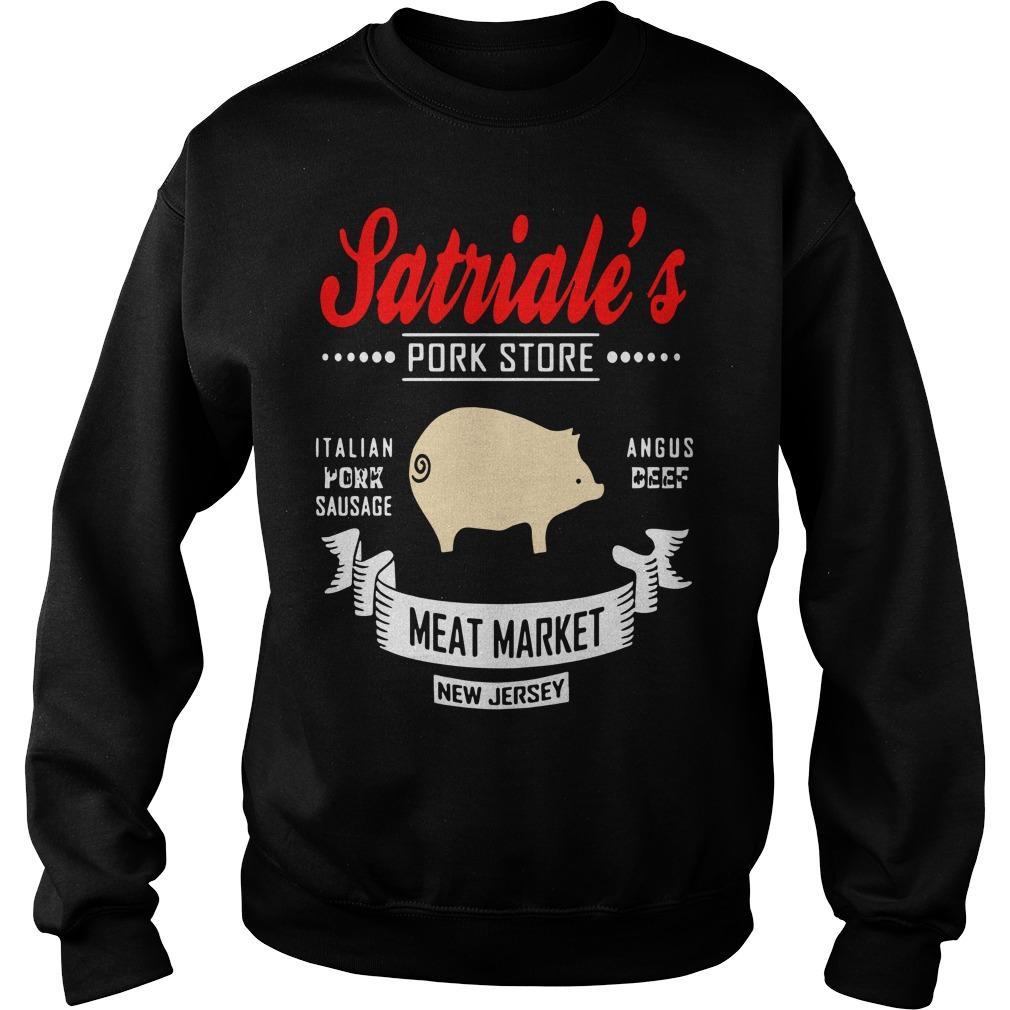 Satriale's Pork Store Italian Pork Sausage Angus Beef Meat Market Sweater