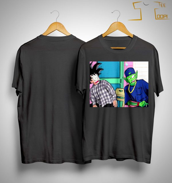 Son Goku And Piccolo Damn Meme Shirt