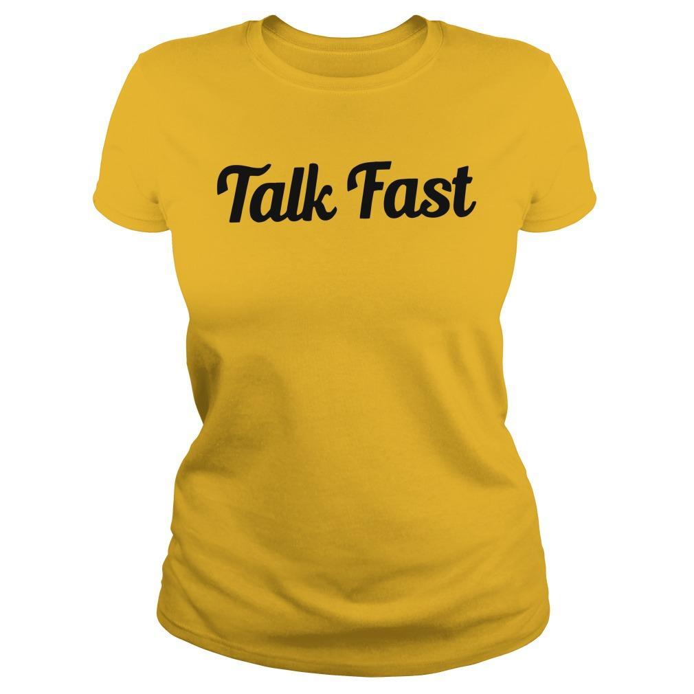 Talk Fast Longsleeve