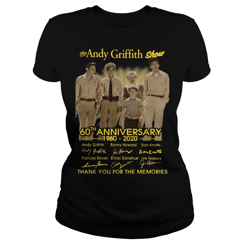 The Andy Griffith Show 60th Anniversary Thank You For The Memories Longsleeve